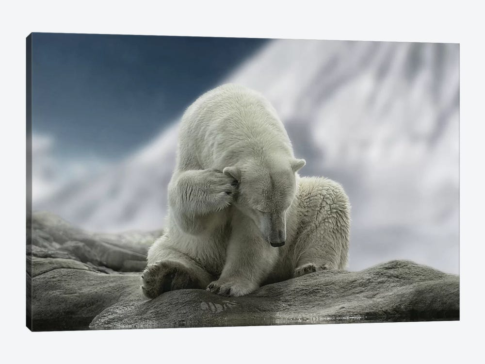 Itching Ear by Lars van de Goor 1-piece Art Print