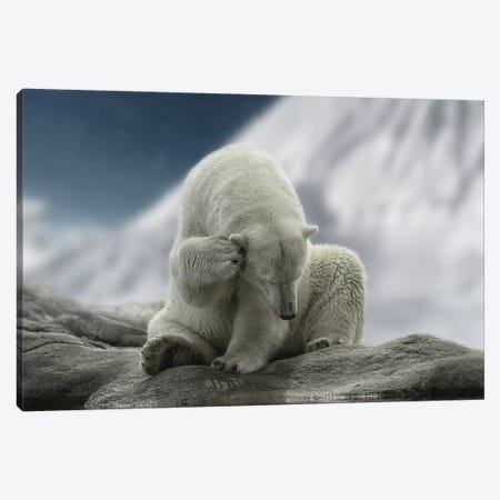Itching Ear Canvas Print #LGR18} by Lars van de Goor Canvas Art