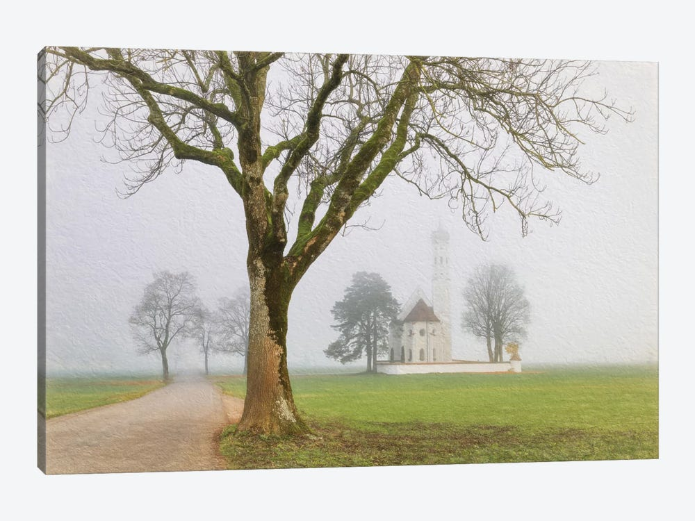 Pilgrimage Church Of St. Coloman by Lars van de Goor 1-piece Canvas Artwork