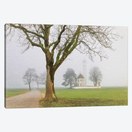 Pilgrimage Church Of St. Coloman Canvas Print #LGR22} by Lars van de Goor Canvas Art Print