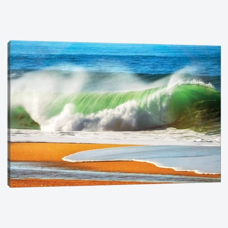 The Wave Canvas Print #LGR60} by Lars van de Goor Art Print