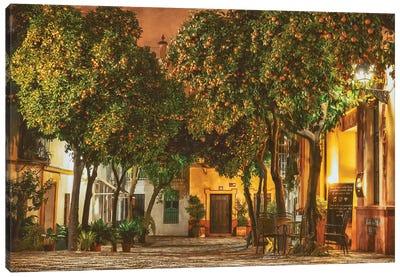 Night in Sevilla Canvas Art Print