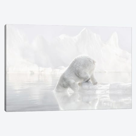 Going for a Swim Canvas Print #LGR73} by Lars van de Goor Canvas Artwork