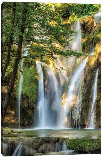 La Cascade Canvas Art Print