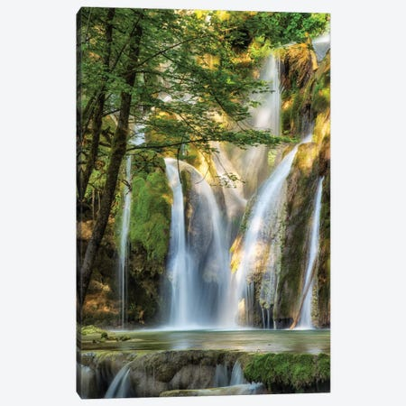 La Cascade Canvas Print #LGR9} by Lars van de Goor Canvas Art Print