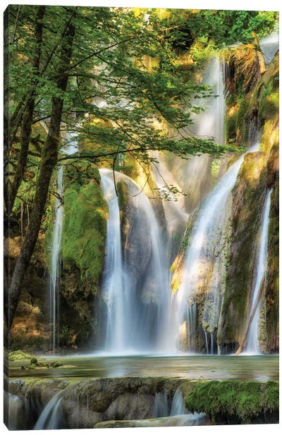 La Cascade Canvas Art Print
