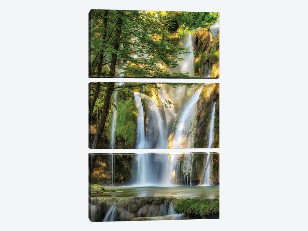 La Cascade by Lars van de Goor 3-piece Canvas Art