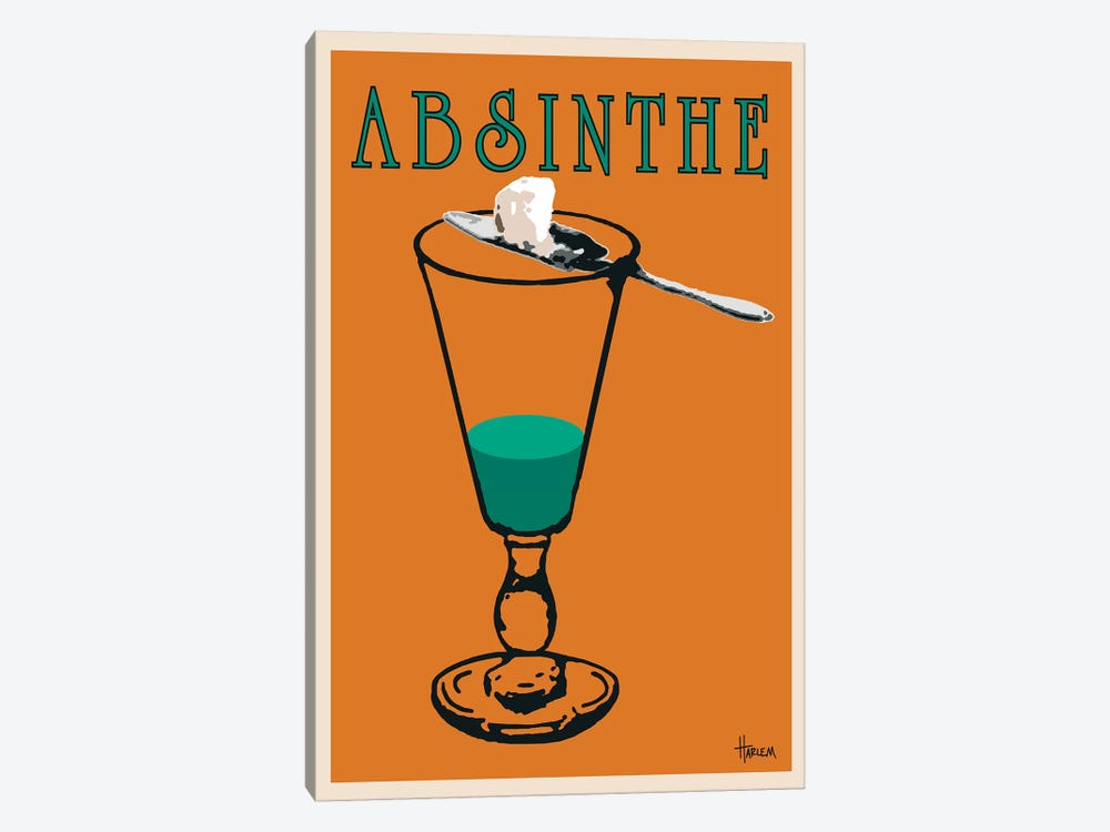 Absinthe by Lee Harlem 1-piece Art Print