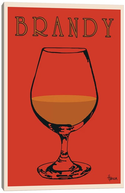 Brandy Canvas Art Print