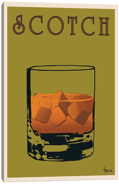 Scotch Canvas Art Print