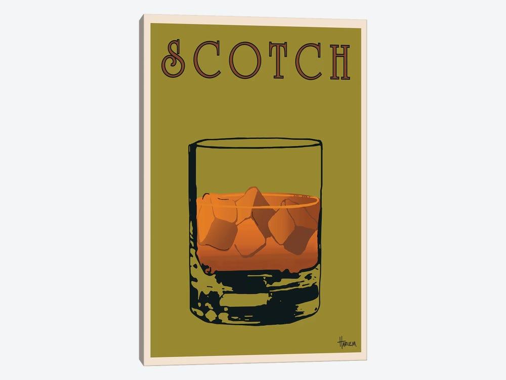Scotch by Lee Harlem 1-piece Canvas Print