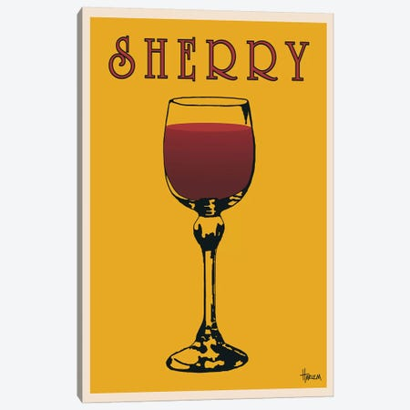 Sherry Canvas Print #LHA4} by Lee Harlem Canvas Art Print