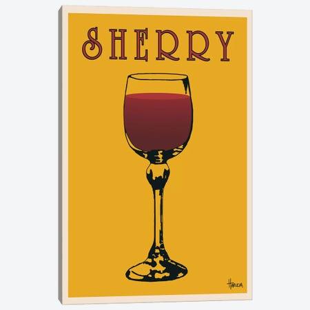 Sherry Canvas Print #LHA4} by Lee Harlem Canvas Art Print
