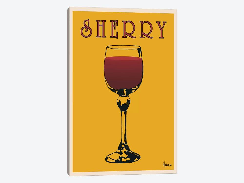 Sherry by Lee Harlem 1-piece Canvas Artwork