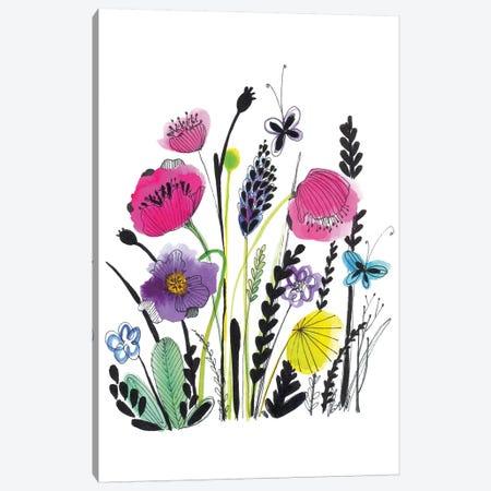 Free Floral IV Canvas Print #LHE10} by Larisa Hernandez Canvas Print