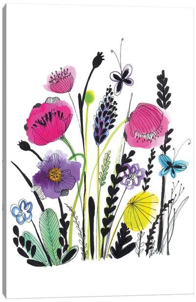 Free Floral IV Canvas Art Print