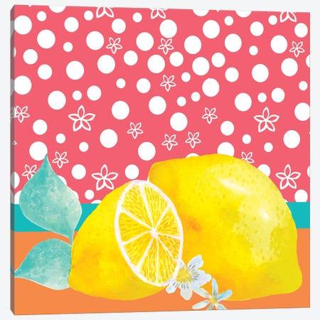 Lemon Inspiration I 3-Piece Canvas #LHE11} by Larisa Hernandez Art Print