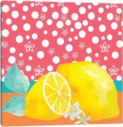 Lemon Inspiration I Canvas Art Print