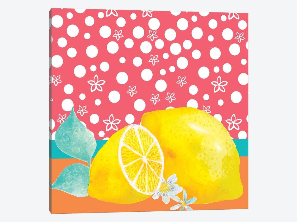 Lemon Inspiration I by Larisa Hernandez 1-piece Canvas Print