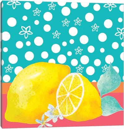 Lemon Inspiration II Canvas Art Print