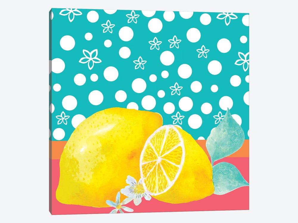 Lemon Inspiration II by Larisa Hernandez 1-piece Canvas Art