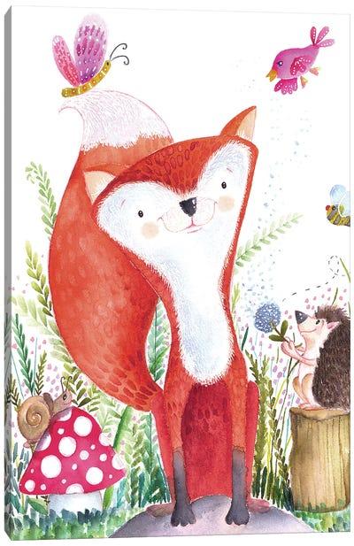 Forest Pals I Canvas Art Print