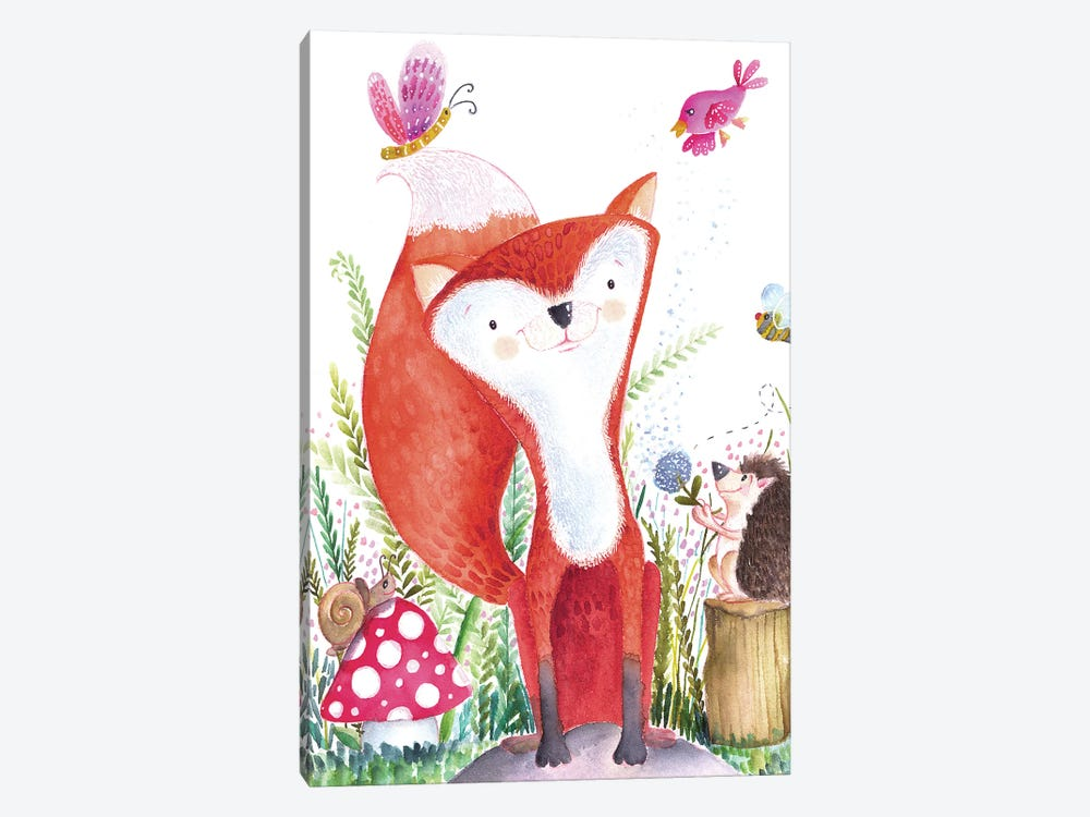 Forest Pals I by Larisa Hernandez 1-piece Art Print