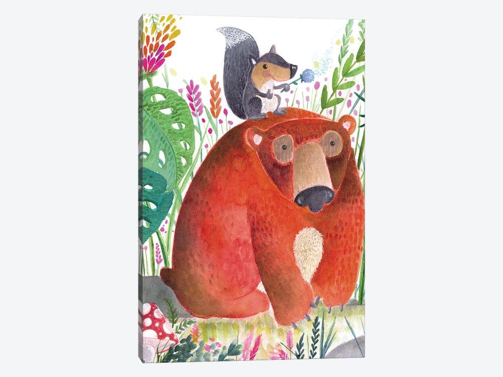 Forest Pals II by Larisa Hernandez 1-piece Canvas Art