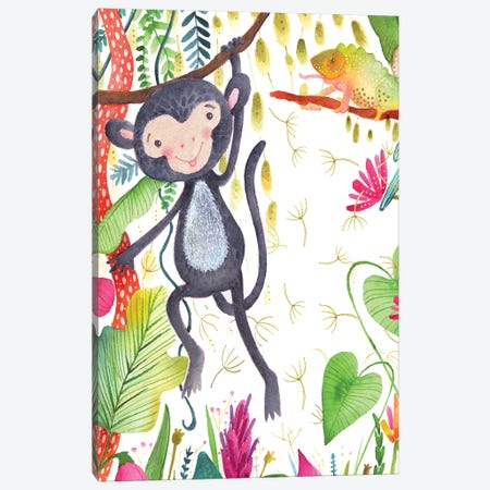 Hangin' Around II Canvas Print #LHE4} by Larisa Hernandez Art Print