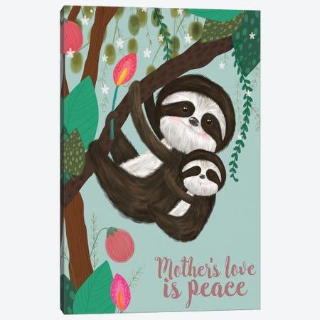 Mother's Love I Canvas Print #LHE5} by Larisa Hernandez Canvas Art Print