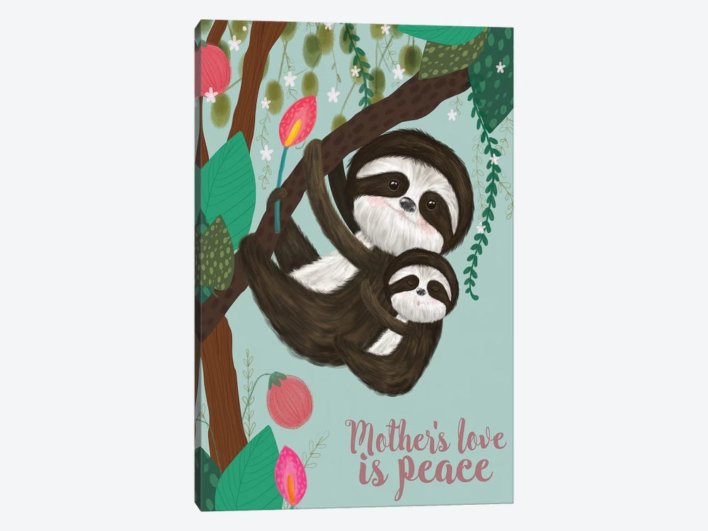 Mother's Love I by Larisa Hernandez 1-piece Canvas Print