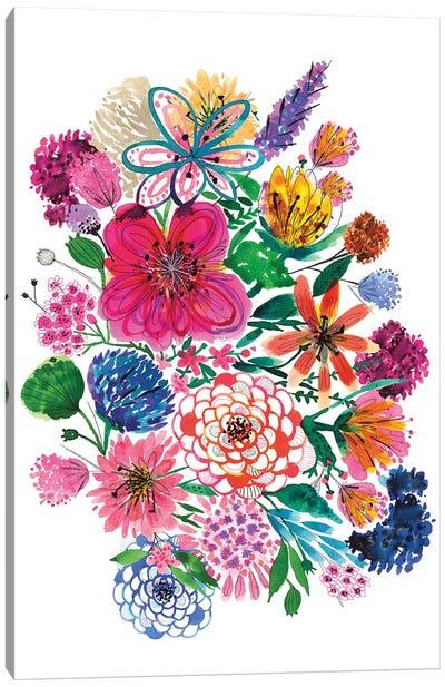 Free Floral I Canvas Art Print
