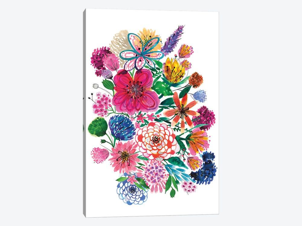 Free Floral I by Larisa Hernandez 1-piece Canvas Print