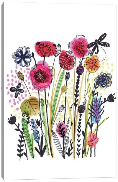Free Floral II Canvas Art Print
