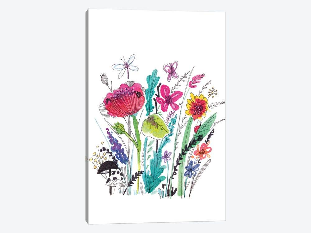 Free Floral III by Larisa Hernandez 1-piece Art Print