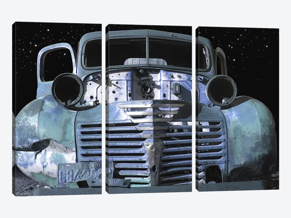 Moonlight Grill by Larry Hunter 3-piece Canvas Artwork