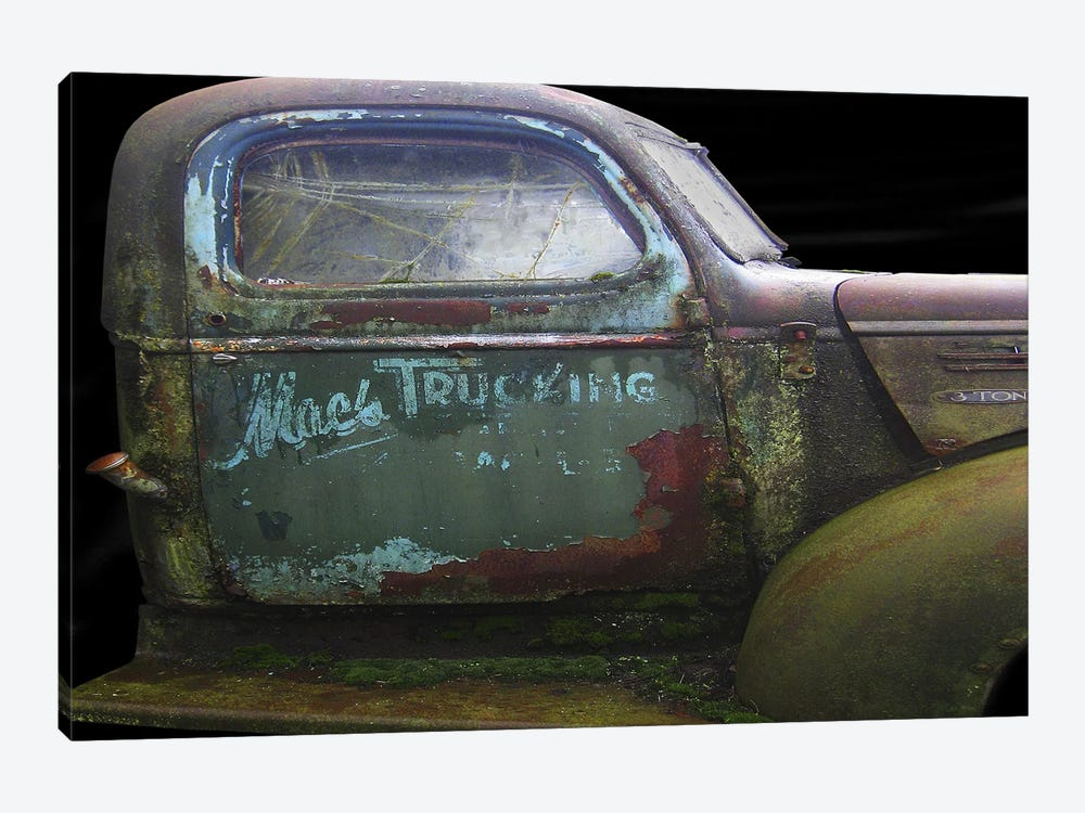 Mac's GMC by Larry Hunter 1-piece Canvas Wall Art