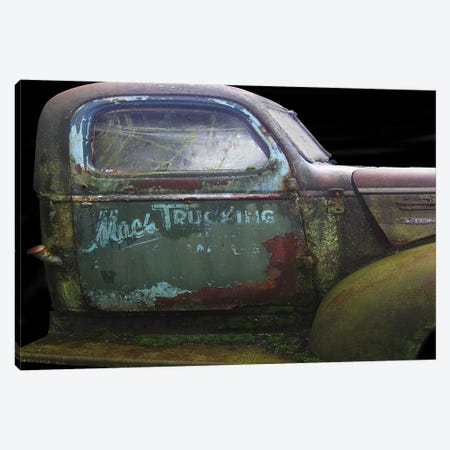 Mac's GMC Canvas Print #LHR12} by Larry Hunter Canvas Art