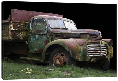 Mac's Trucking GMC Canvas Art Print