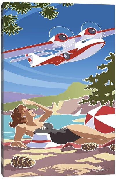 Catalina Canvas Art Print