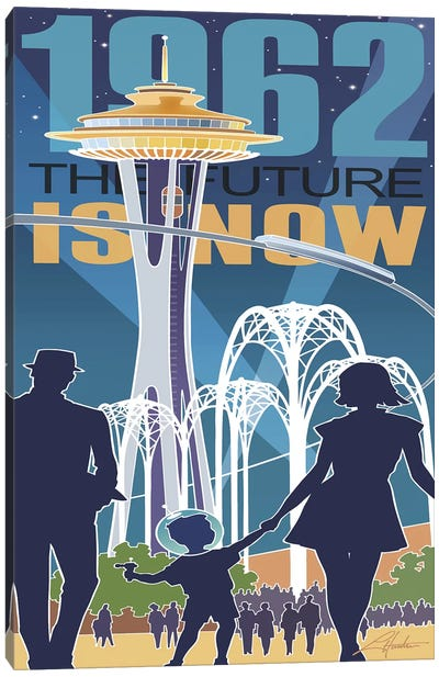 The Future is Now Canvas Art Print