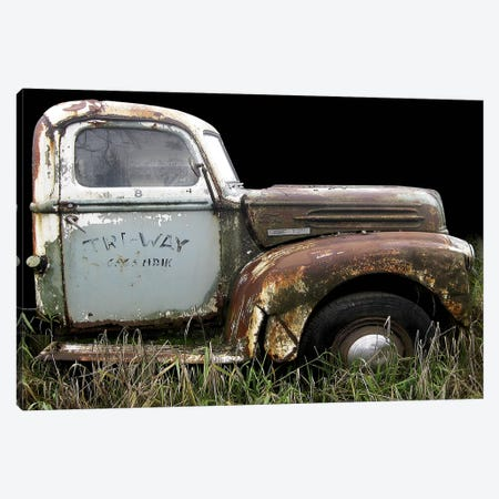 1947 Ford 1 Ton Canvas Print #LHR1} by Larry Hunter Canvas Wall Art