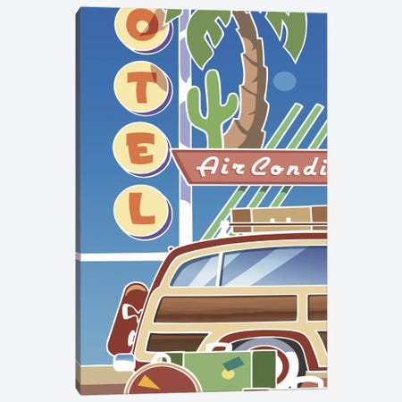 Woody Canvas Print #LHR20} by Larry Hunter Art Print