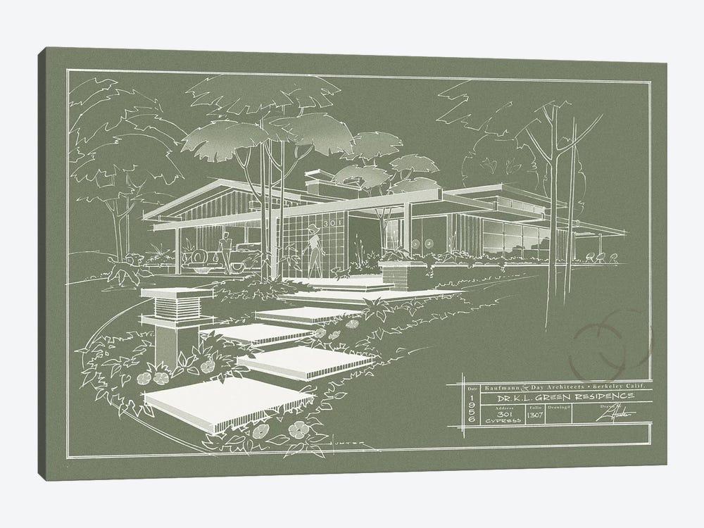 301 Cypress Dr. Moss Inverse by Larry Hunter 1-piece Canvas Art