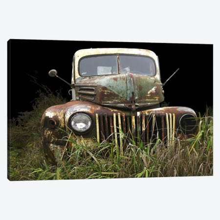 1947 Ford Canvas Print #LHR2} by Larry Hunter Canvas Wall Art