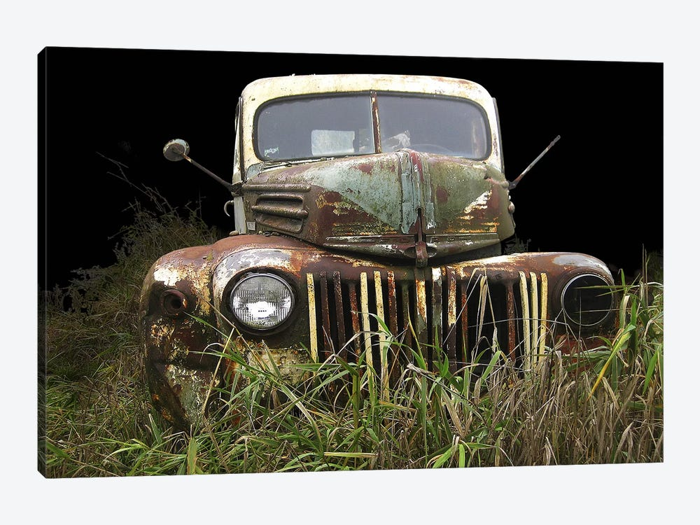 1947 Ford by Larry Hunter 1-piece Canvas Print