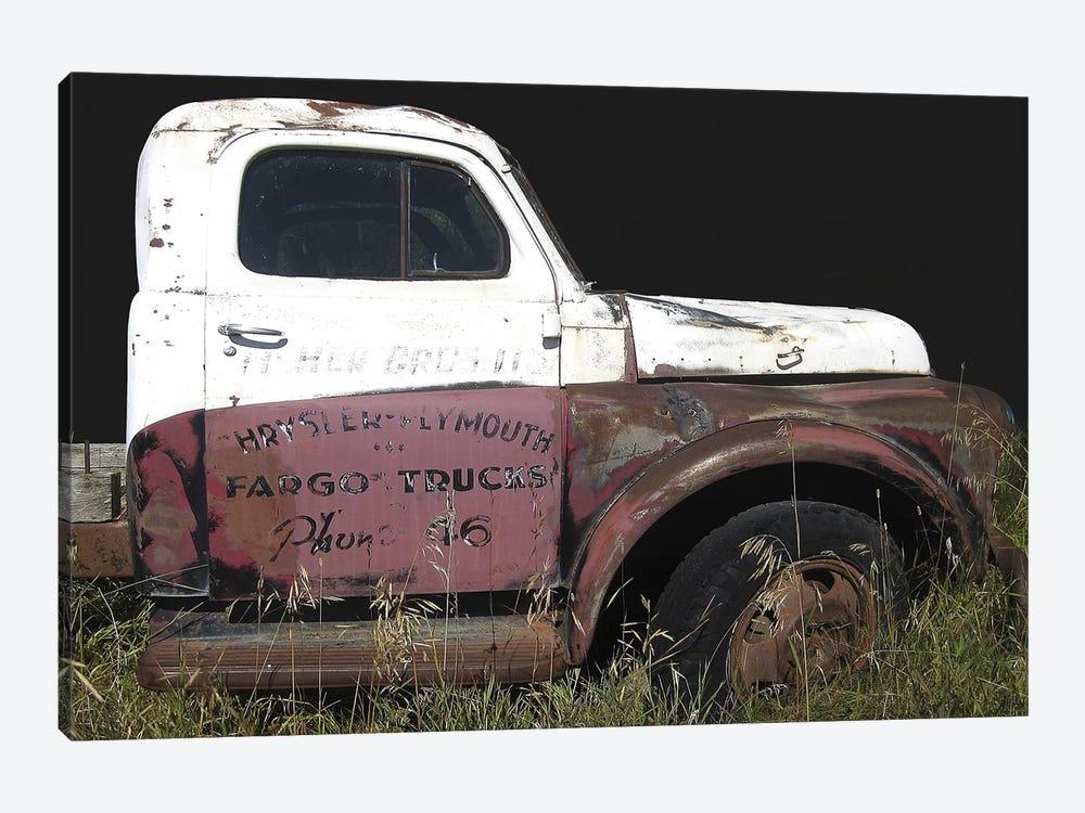 Fargo Profile by Larry Hunter 1-piece Canvas Art Print