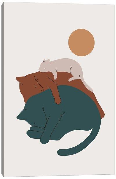 Cat Landscape XVII Canvas Art Print