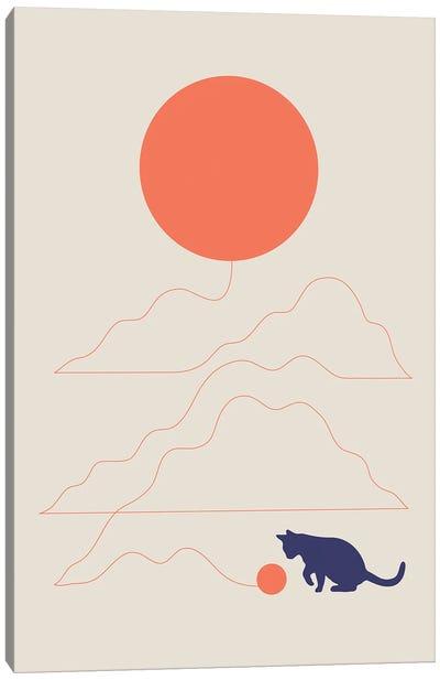 Cat Landscape XLI Canvas Art Print