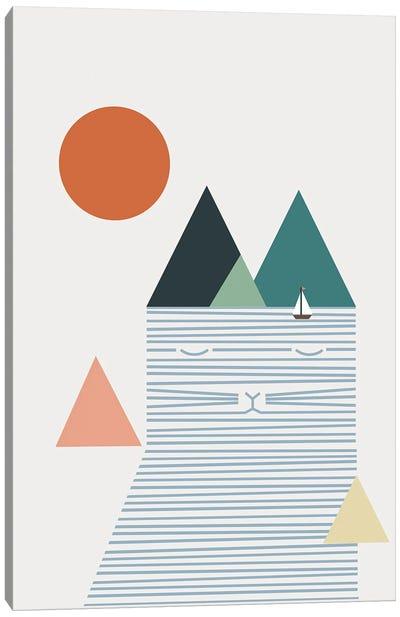 Cat Landscape LII Canvas Art Print